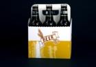 cestino birra nero 6 bott