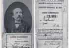 Tessera di espositore all'Esposizione Universale di Parigi del 1878