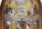 Cappella decorata in mosaico (Basilica di Lourdes)