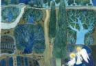 Alessandra D'Este. Illustrazione acquerello. L'ultima notte nell'orto degli ulivi.