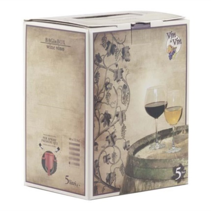 Bag in Box 5 litri Stampa vino