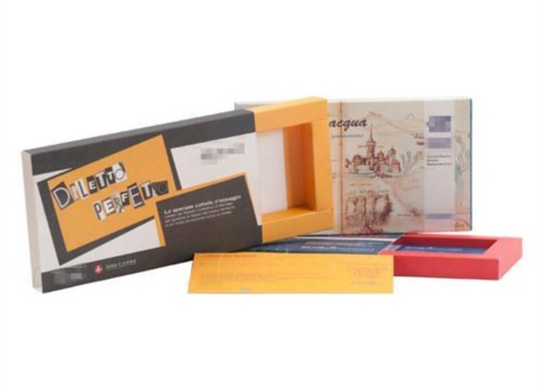 Astuccio a cassetto con bordo largo| Packaging - Espositori - Bag in Box
