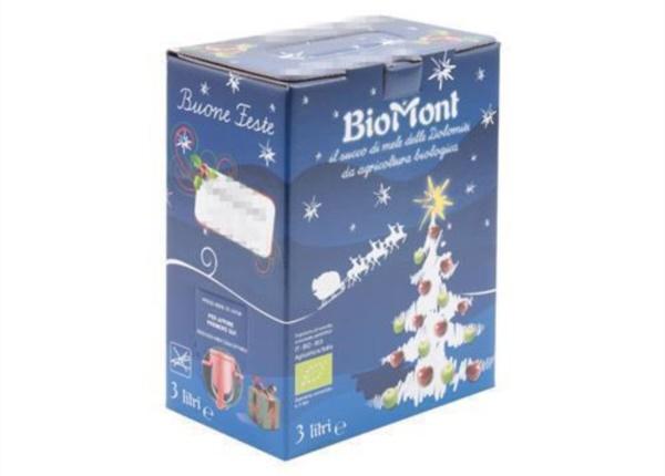 Bag in Box con grafica natalizia| Packaging - Espositori - Bag in Box