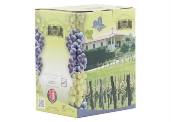 Bag in Box con grafica mista| Packaging - Espositori - Bag in Box