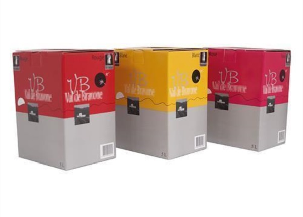 Linea Bag in Box 3 vini| Packaging - Espositori - Bag in Box