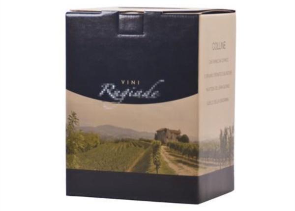 Bag in Box nero e avana| Packaging - Espositori - Bag in Box
