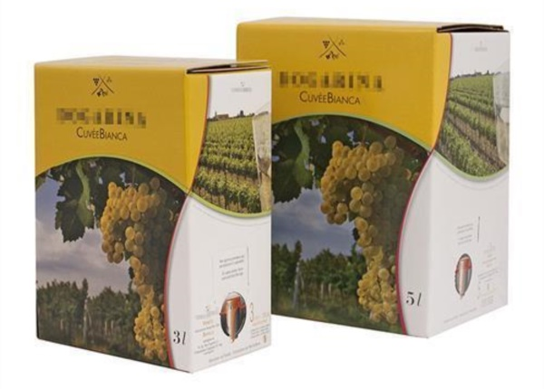 Bag in Box vino bianco 5 colori| Packaging - Espositori - Bag in Box