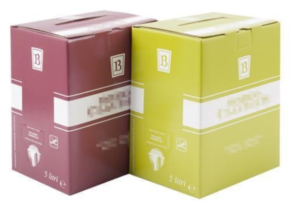 Bag in box con stampa 1 colore| Packaging - Espositori - Bag in Box