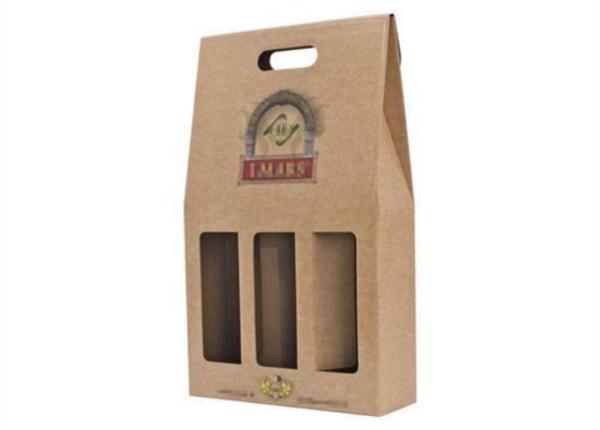 Confezione per bottiglie con stampa 4 colori| Packaging - Espositori - Bag in Box
