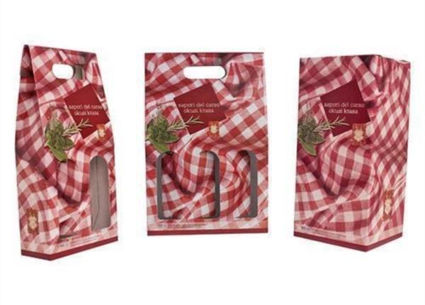 Confezioni per 2, 3 e 4 bottiglie  Packaging - Espositori - Bag in Box
