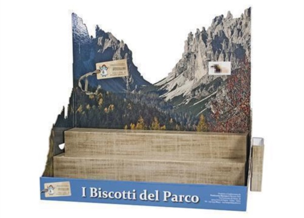 Espositore da banco per biscotti| Packaging - Espositori - Bag in Box