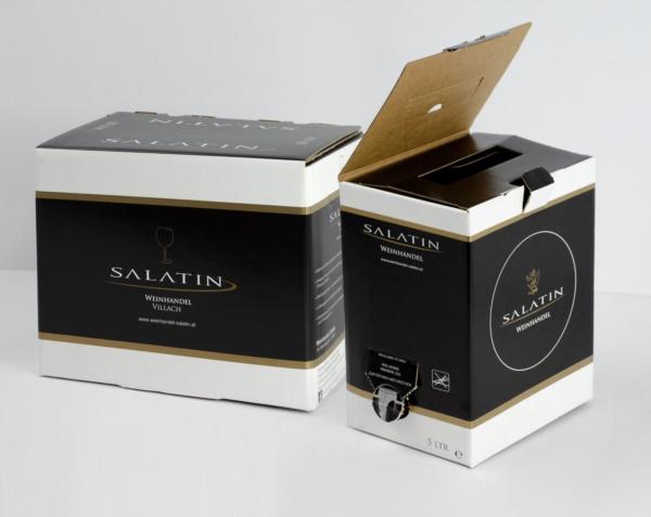 Linea Bag in Box vino da 5 e 10 lt.| Packaging - Espositori - Bag in Box